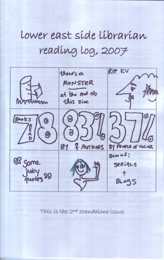 Lower East Side Librarian Reading Log 2007
