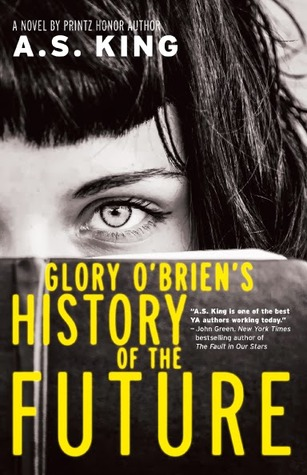 book cover: Glory O'Brien's History of the Future